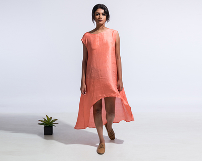 The marilyn dress coral thumb