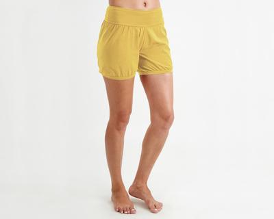 Padma blouson shorts mustard thumb