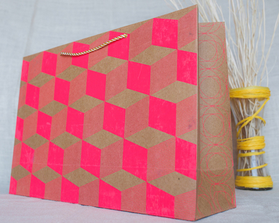 Opil large gift bag pink thumb