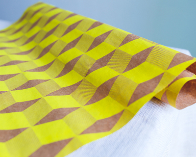 Opil yellow wrapping paper thumb