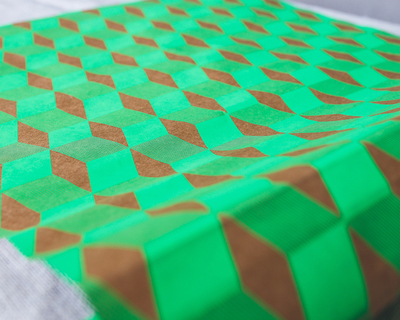 Opil green wrapping paper thumb