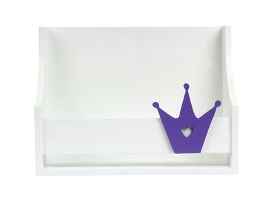 Small single tiara shelf purple thumb