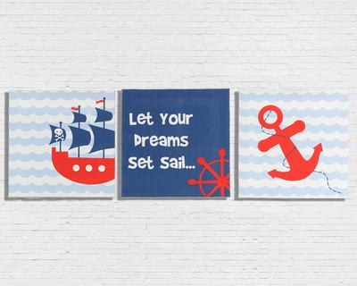 Sailor wall art thumb