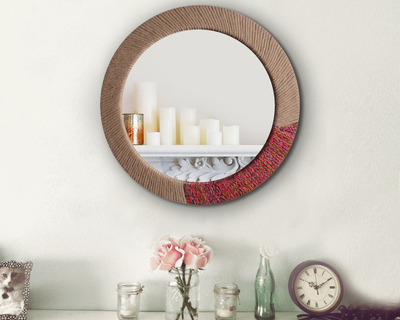 Roped looking glass mirror thumb