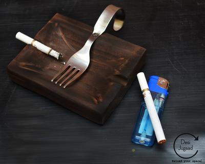 Meet the forker ashtray thumb