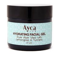 Lemongrass turmeric hydrating facial gel small