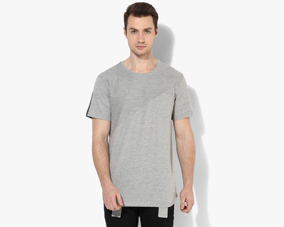 Cant find my knees grey patterned tshirt thumb