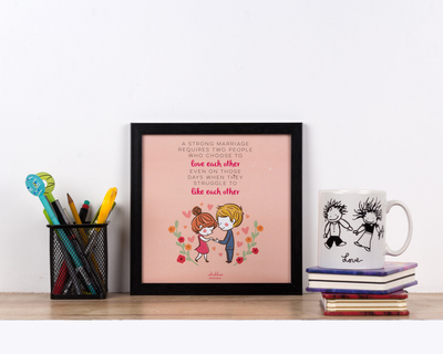 Love each other poster frame thumb