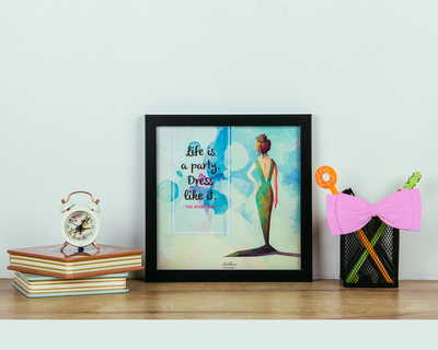 Life is a party poster frame thumb