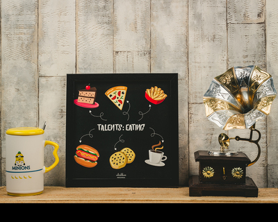 Talents eating poster frame thumb