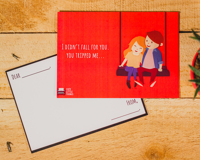 You tripped me poster card thumb