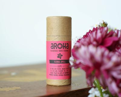 Floral spell natural deodorant stick thumb