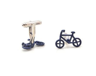 Cycle cufflinks thumb