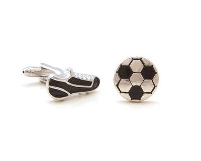 Football shoe cufflinks thumb