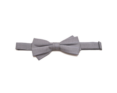 The essential grey bow thumb