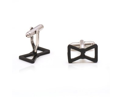 Bow tie cufflinks thumb
