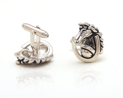 Horses and luck cufflinks thumb