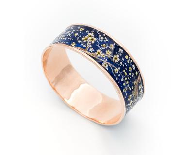 Blossom handpainted bangle thumb