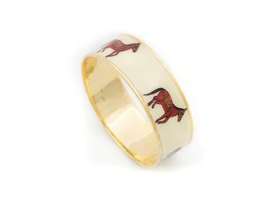 Horse handpainted bangle thumb