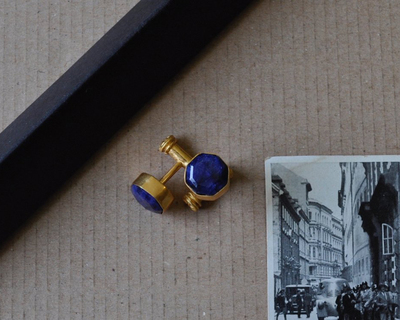 Night s blue cufflinks thumb