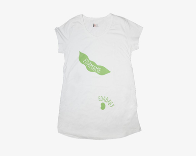 Mommy to be edamame thumb