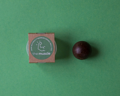 The muscle natural energy balls thumb