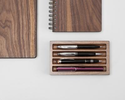 Pen tray thumb