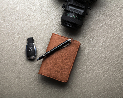 Passport wallet thumb