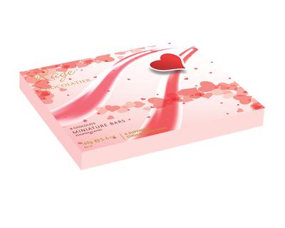Valentines day pink heart box thumb