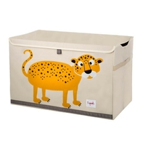 Leopard toy chest small