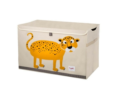 Leopard toy chest thumb