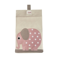 3 sprouts elephant diaper stacker small