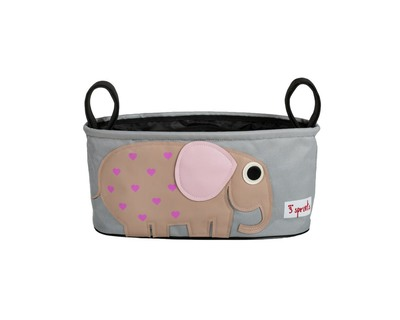 3 sprouts berry elephant stroller organiser thumb
