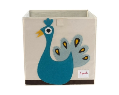 3 sprouts peacock storage box thumb