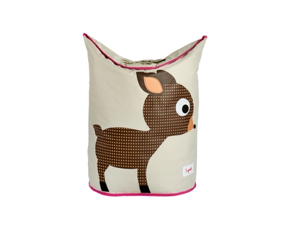 3 sprouts deer laundry hamper thumb