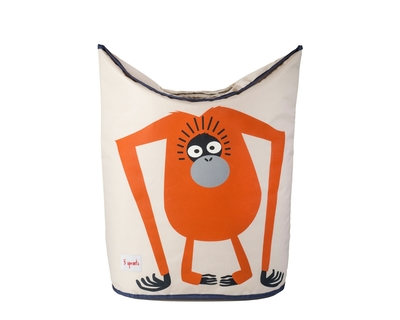 3 sprouts orangutan laundry hamper thumb