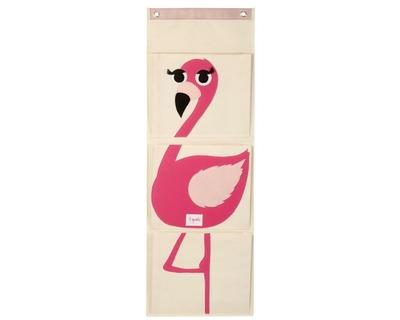 3 sprouts flamingo wall organiser thumb
