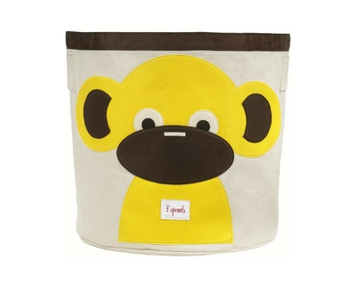 3 sprouts monkey storage bin thumb