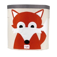 3 sprouts fox storage bin small