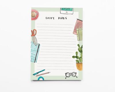 Notepad daily plans thumb