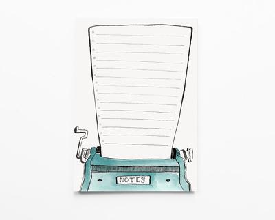 Notepad notes thumb