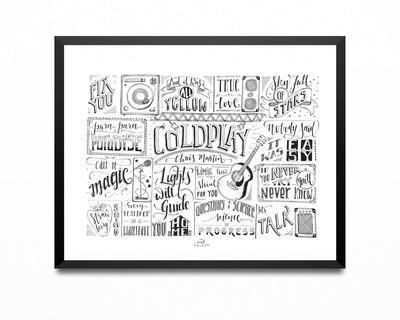 Art print coldplay thumb