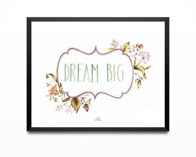Art print dream big thumb