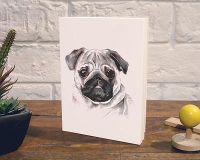 Notebook pug thumb