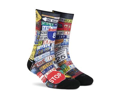 Dynamocks roadster unisex crew socks thumb