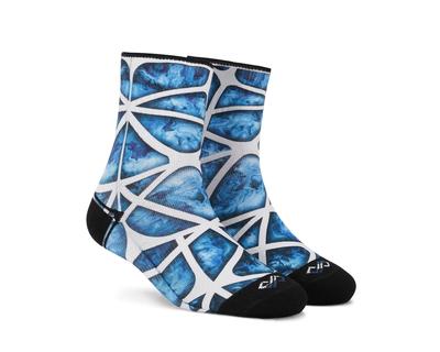 Dynamocks aqua celestia unisex ankle socks thumb