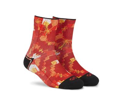 Dynamocks poinciana passion ankle socks thumb