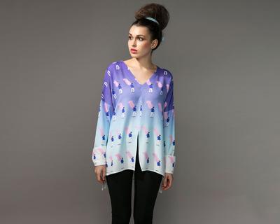 Cotton candy cloud shirt thumb