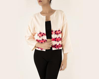 Kimono sleeve jacket thumb