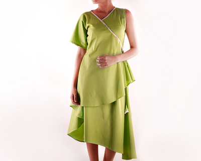 Wrap around dress thumb